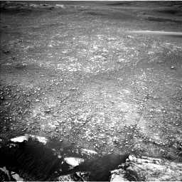 Nasa's Mars rover Curiosity acquired this image using its Left Navigation Camera on Sol 2357, at drive 516, site number 75