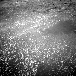 Nasa's Mars rover Curiosity acquired this image using its Left Navigation Camera on Sol 2357, at drive 666, site number 75