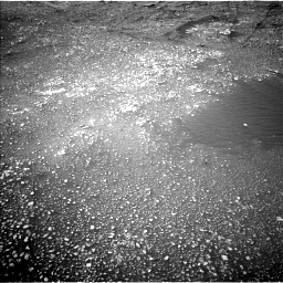Nasa's Mars rover Curiosity acquired this image using its Left Navigation Camera on Sol 2357, at drive 672, site number 75
