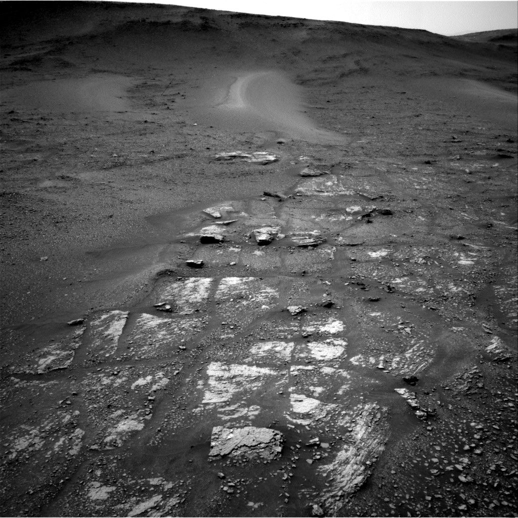 Nasa's Mars rover Curiosity acquired this image using its Right Navigation Camera on Sol 2357, at drive 750, site number 75