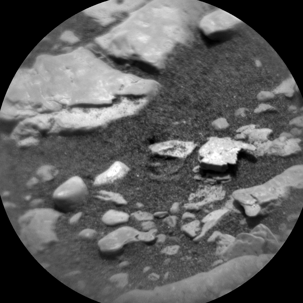Nasa's Mars rover Curiosity acquired this image using its Chemistry & Camera (ChemCam) on Sol 2358, at drive 750, site number 75