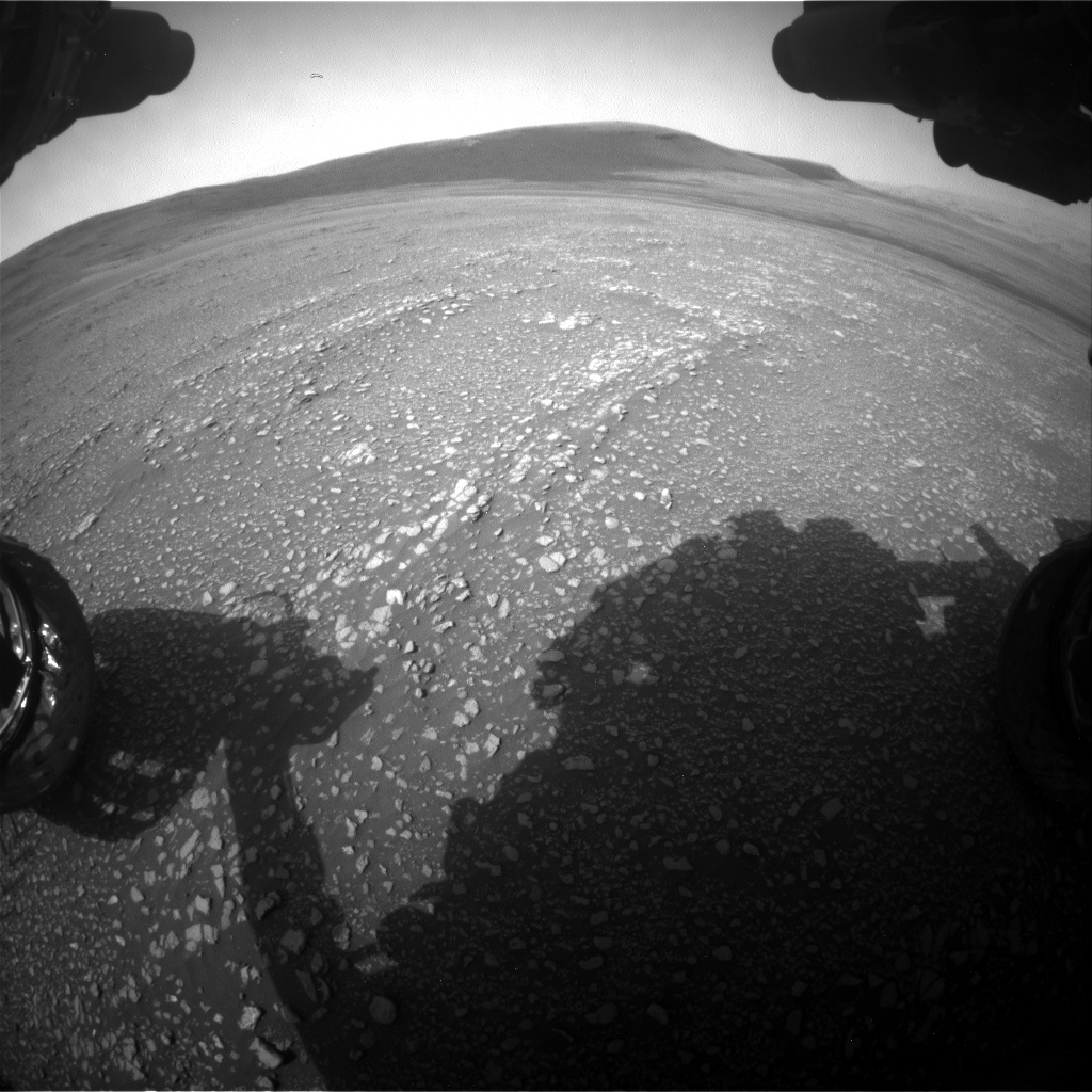 Nasa's Mars rover Curiosity acquired this image using its Front Hazard Avoidance Camera (Front Hazcam) on Sol 2359, at drive 936, site number 75