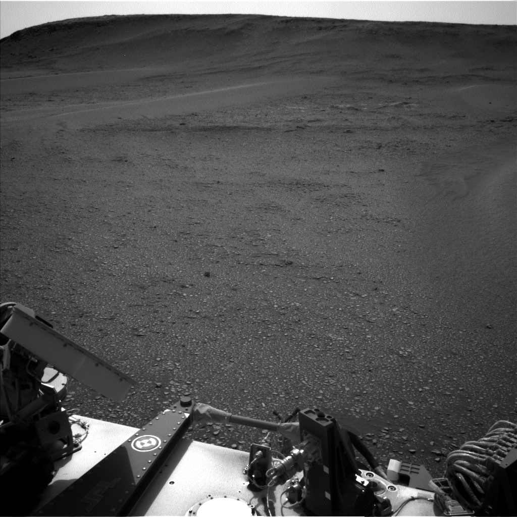 Nasa's Mars rover Curiosity acquired this image using its Left Navigation Camera on Sol 2359, at drive 936, site number 75