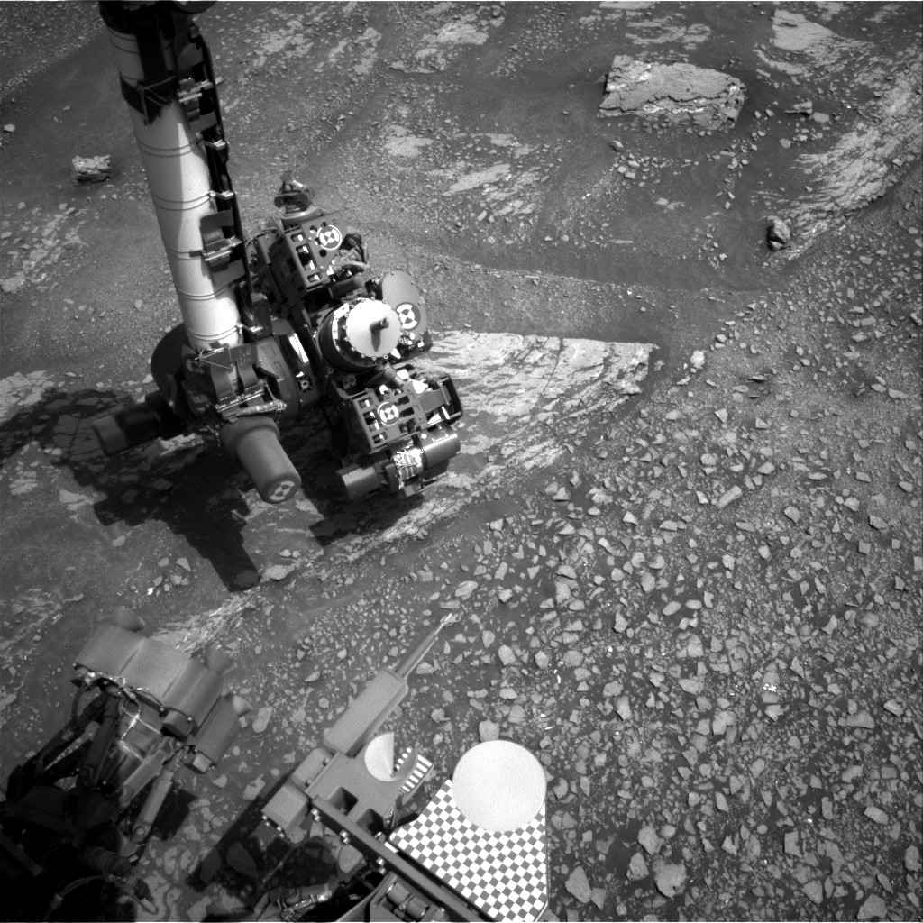 Nasa's Mars rover Curiosity acquired this image using its Right Navigation Camera on Sol 2359, at drive 750, site number 75