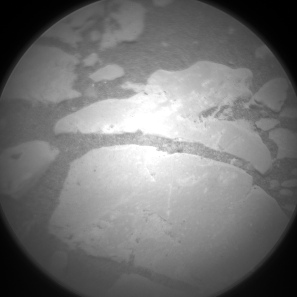 Nasa's Mars rover Curiosity acquired this image using its Chemistry & Camera (ChemCam) on Sol 2361, at drive 936, site number 75