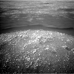 Nasa's Mars rover Curiosity acquired this image using its Left Navigation Camera on Sol 2361, at drive 1062, site number 75