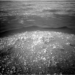 Nasa's Mars rover Curiosity acquired this image using its Left Navigation Camera on Sol 2361, at drive 1068, site number 75