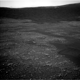 Nasa's Mars rover Curiosity acquired this image using its Left Navigation Camera on Sol 2361, at drive 1086, site number 75