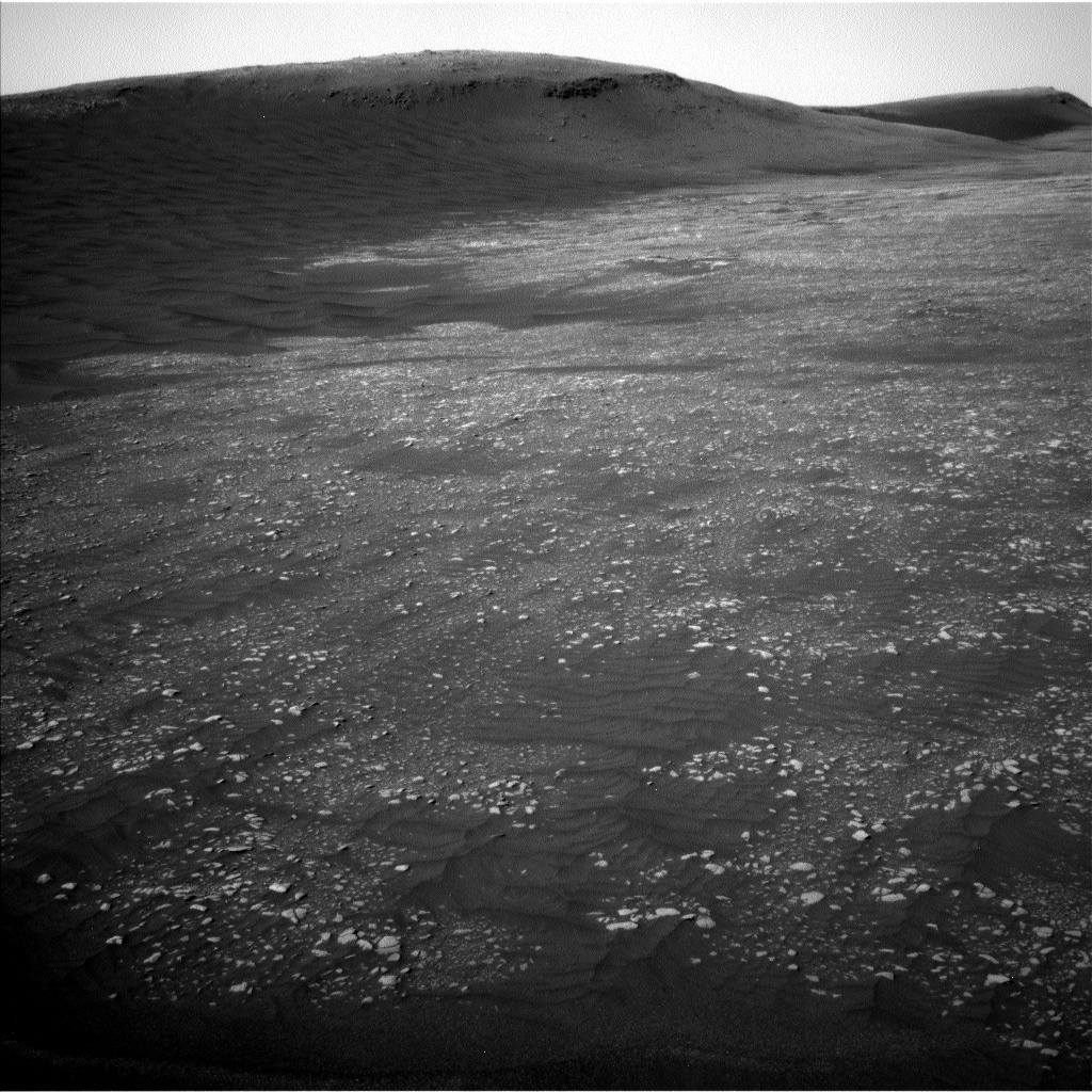 NASA's Mars rover Curiosity acquired this image using its Left Navigation Camera (Navcams) on Sol 2361