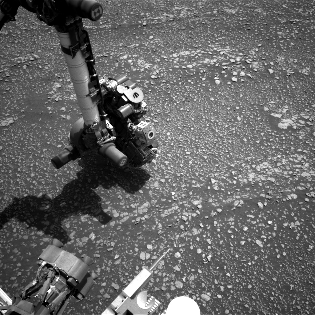 Nasa's Mars rover Curiosity acquired this image using its Right Navigation Camera on Sol 2361, at drive 936, site number 75