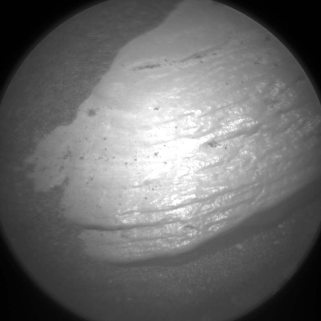 Nasa's Mars rover Curiosity acquired this image using its Chemistry & Camera (ChemCam) on Sol 2362, at drive 1128, site number 75