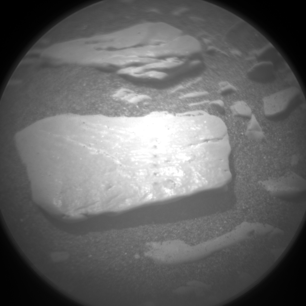Nasa's Mars rover Curiosity acquired this image using its Chemistry & Camera (ChemCam) on Sol 2363, at drive 1128, site number 75