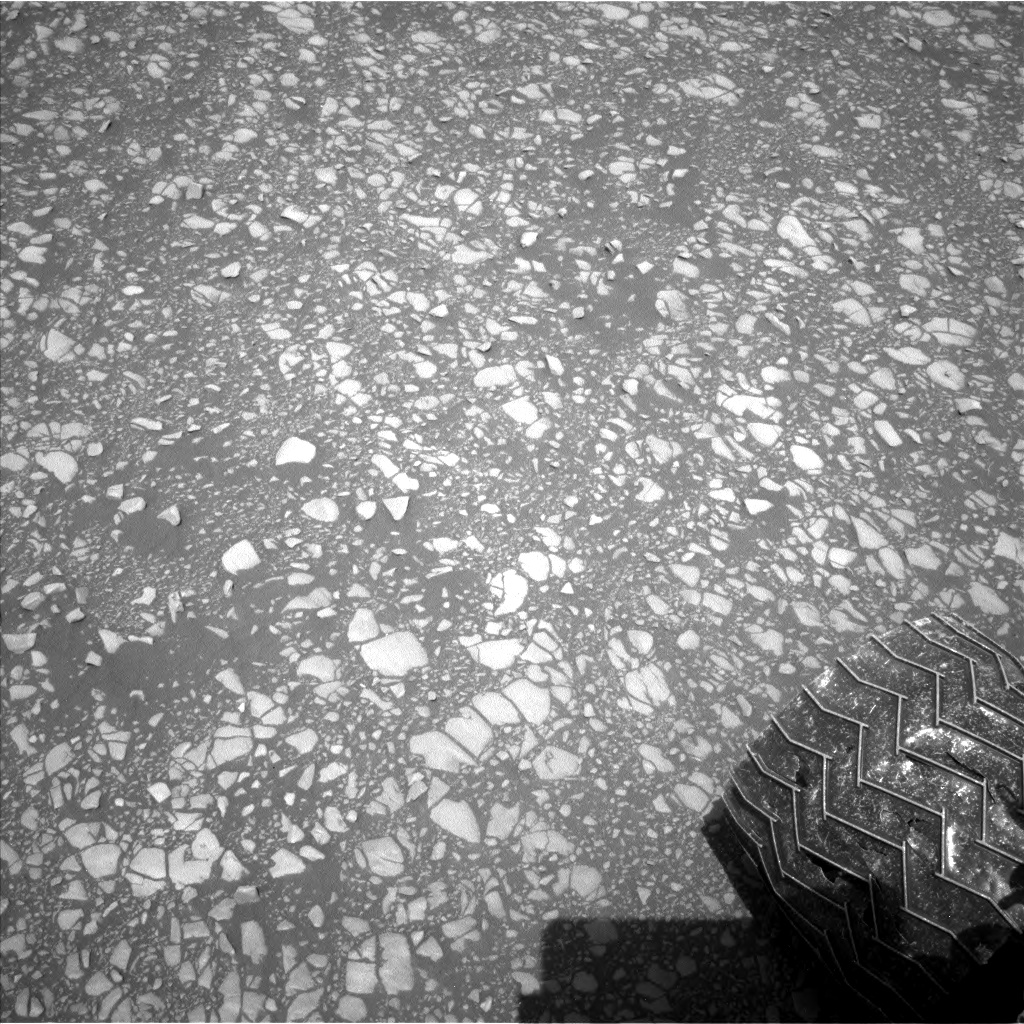 Nasa's Mars rover Curiosity acquired this image using its Left Navigation Camera on Sol 2364, at drive 1350, site number 75