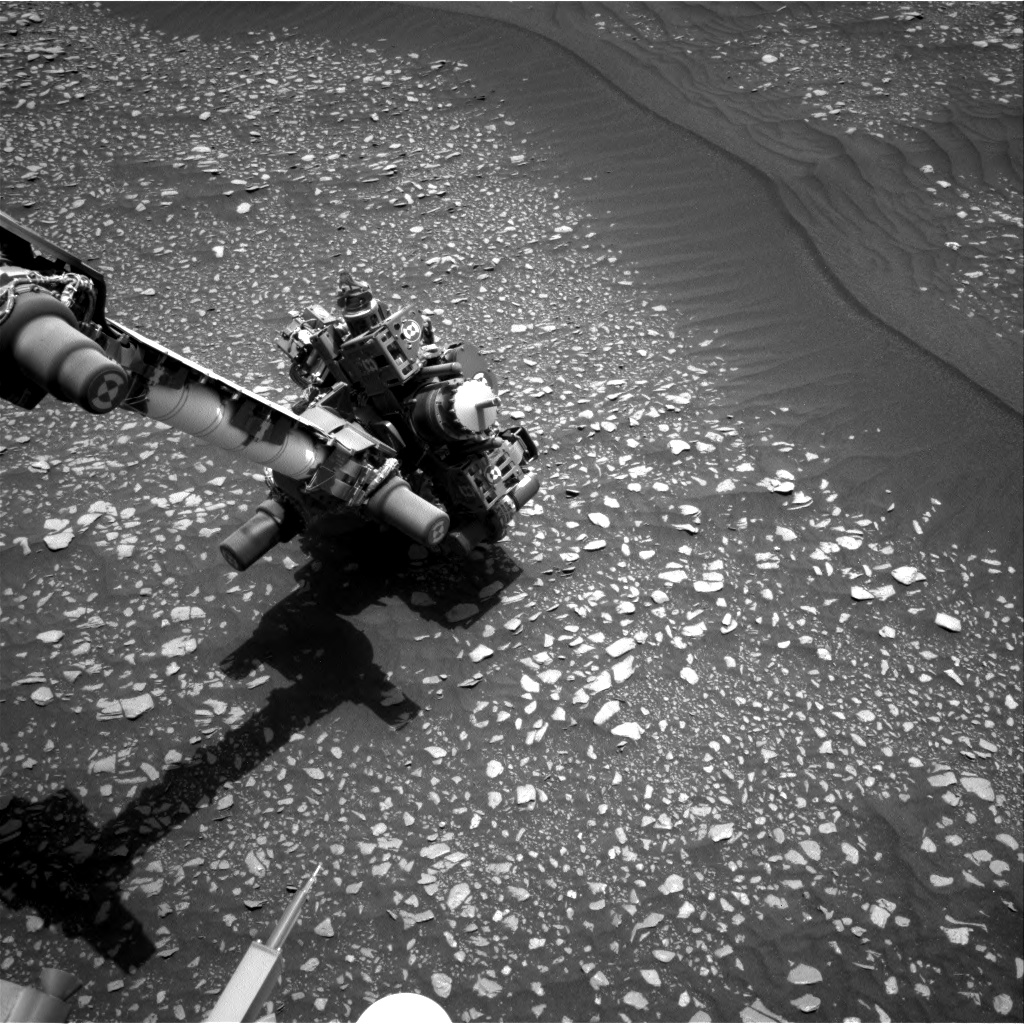 Nasa's Mars rover Curiosity acquired this image using its Right Navigation Camera on Sol 2364, at drive 1128, site number 75