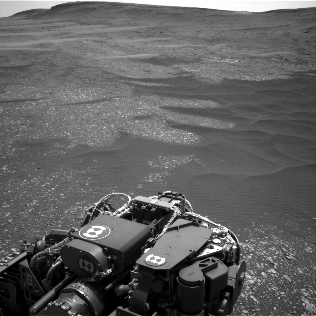 Nasa's Mars rover Curiosity acquired this image using its Right Navigation Camera on Sol 2364, at drive 1350, site number 75
