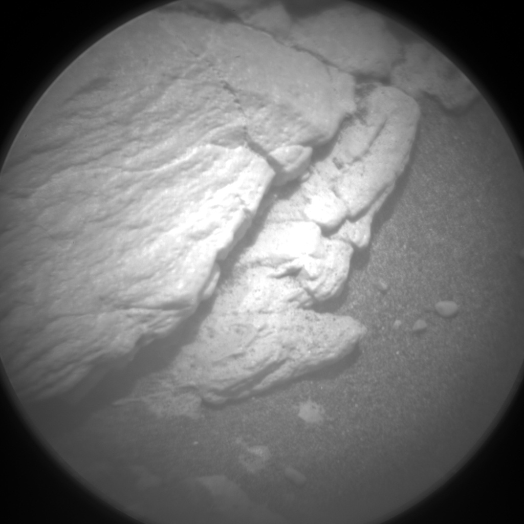 Nasa's Mars rover Curiosity acquired this image using its Chemistry & Camera (ChemCam) on Sol 2365, at drive 1350, site number 75