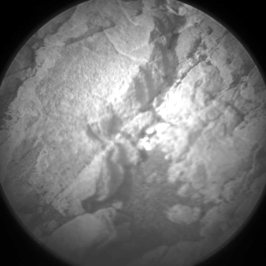 Nasa's Mars rover Curiosity acquired this image using its Chemistry & Camera (ChemCam) on Sol 2365, at drive 1386, site number 75