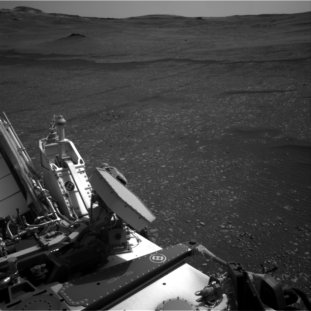 Nasa's Mars rover Curiosity acquired this image using its Right Navigation Camera on Sol 2365, at drive 1386, site number 75