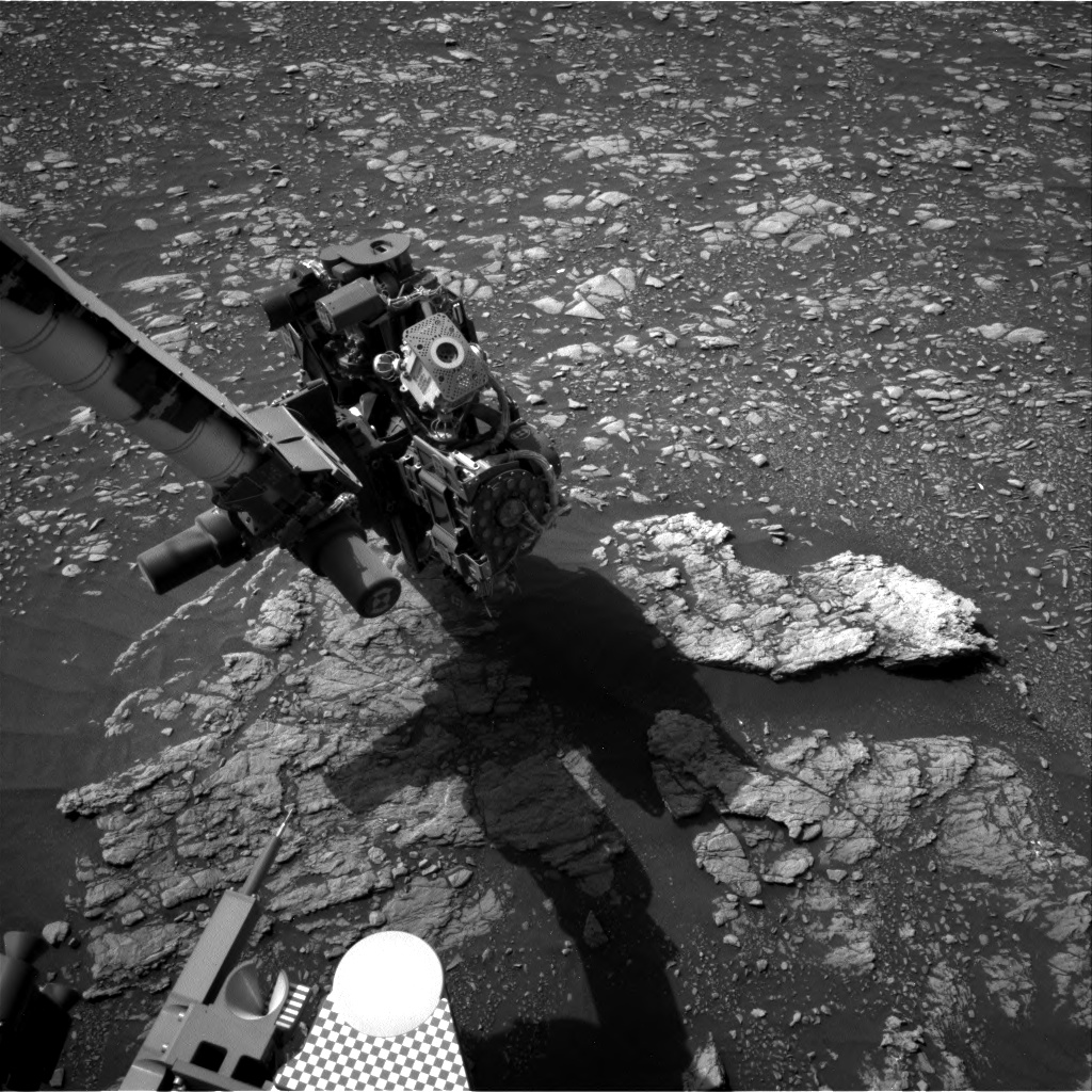 Nasa's Mars rover Curiosity acquired this image using its Right Navigation Camera on Sol 2367, at drive 1386, site number 75