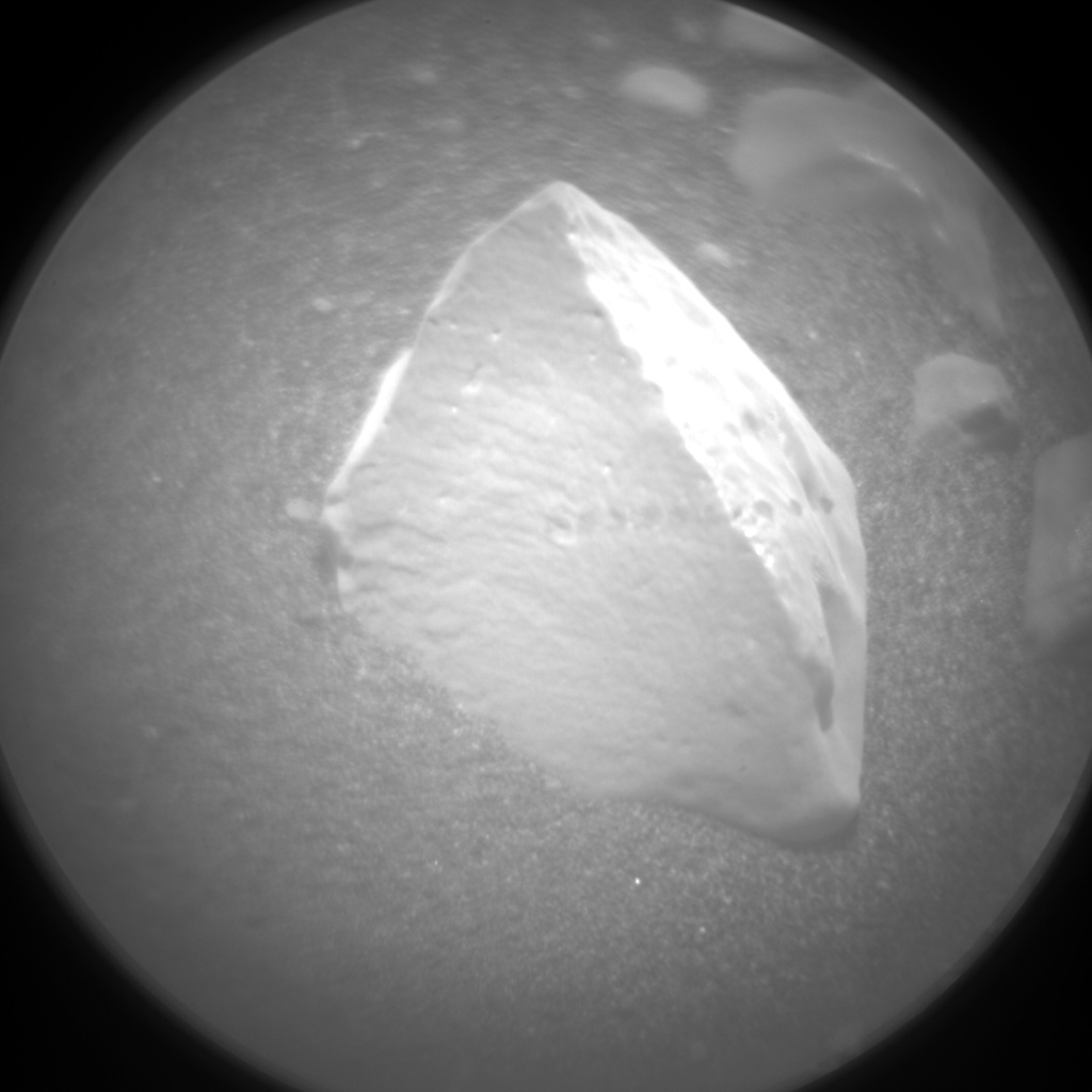 Nasa's Mars rover Curiosity acquired this image using its Chemistry & Camera (ChemCam) on Sol 2368, at drive 1386, site number 75