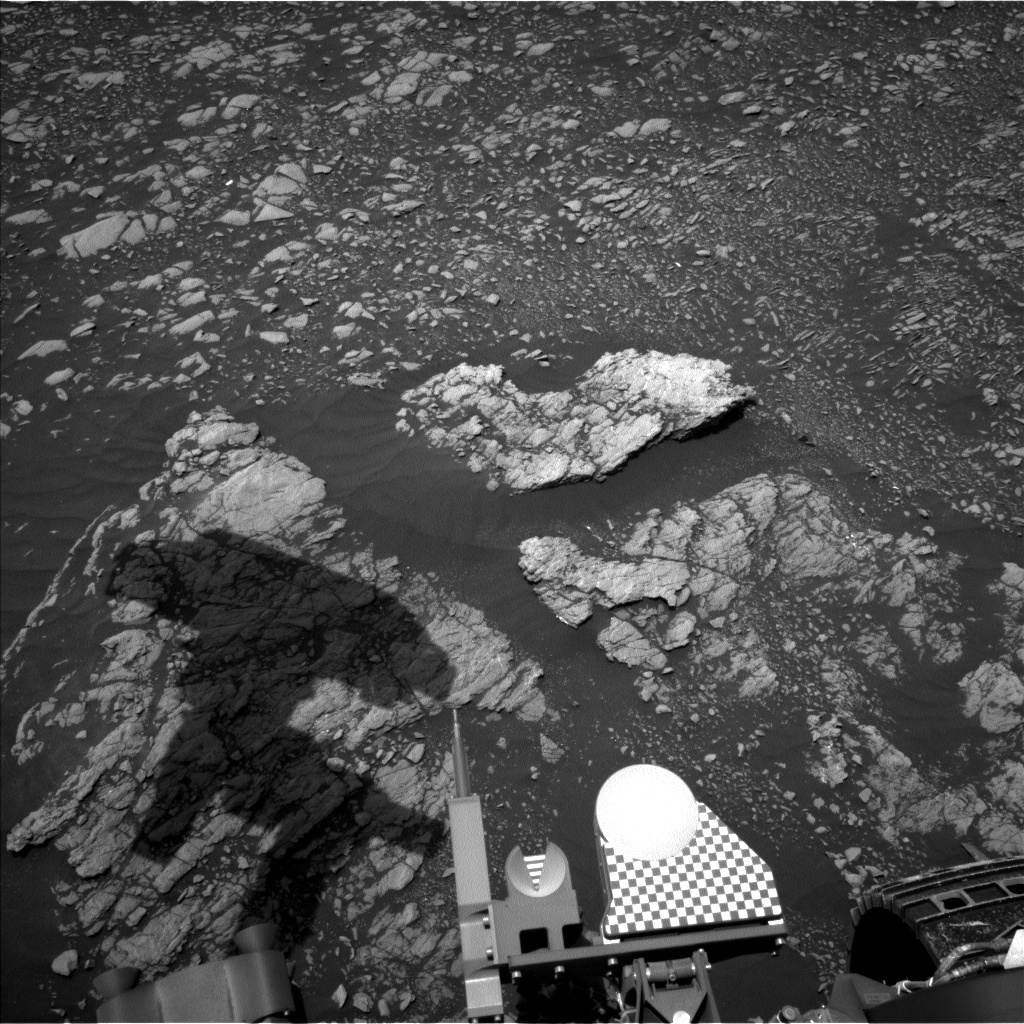 Nasa's Mars rover Curiosity acquired this image using its Left Navigation Camera on Sol 2368, at drive 1386, site number 75
