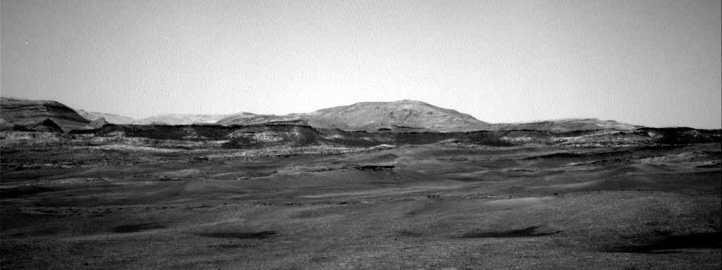 Nasa's Mars rover Curiosity acquired this image using its Right Navigation Camera on Sol 2368, at drive 1386, site number 75