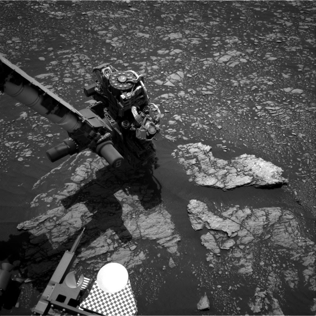 NASA's Mars rover Curiosity acquired this image using its Right Navigation Cameras (Navcams) on Sol 2368