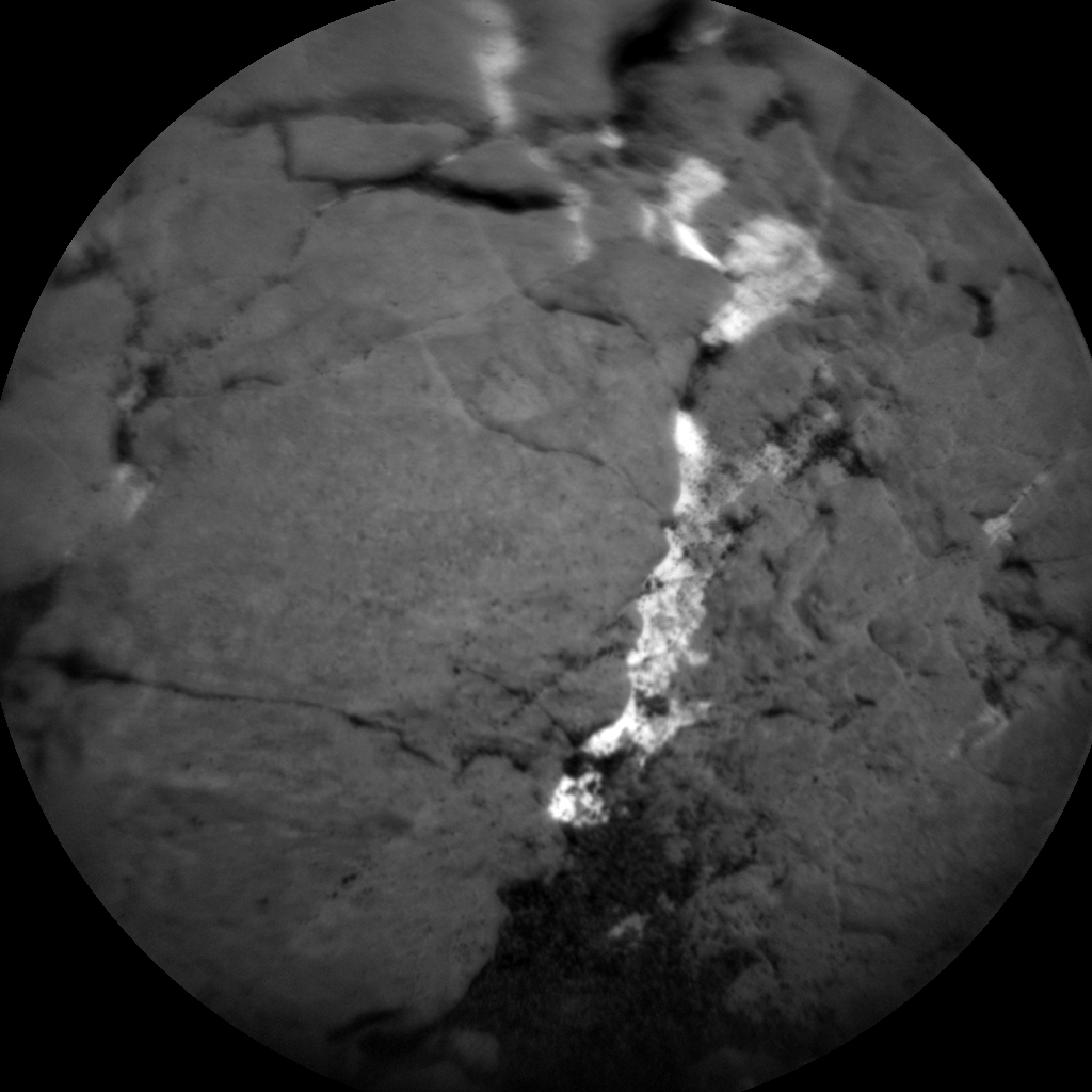 Nasa's Mars rover Curiosity acquired this image using its Chemistry & Camera (ChemCam) on Sol 2369, at drive 1386, site number 75