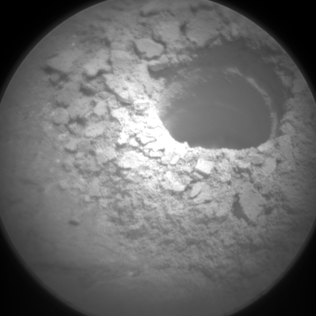 Nasa's Mars rover Curiosity acquired this image using its Chemistry & Camera (ChemCam) on Sol 2371, at drive 1386, site number 75