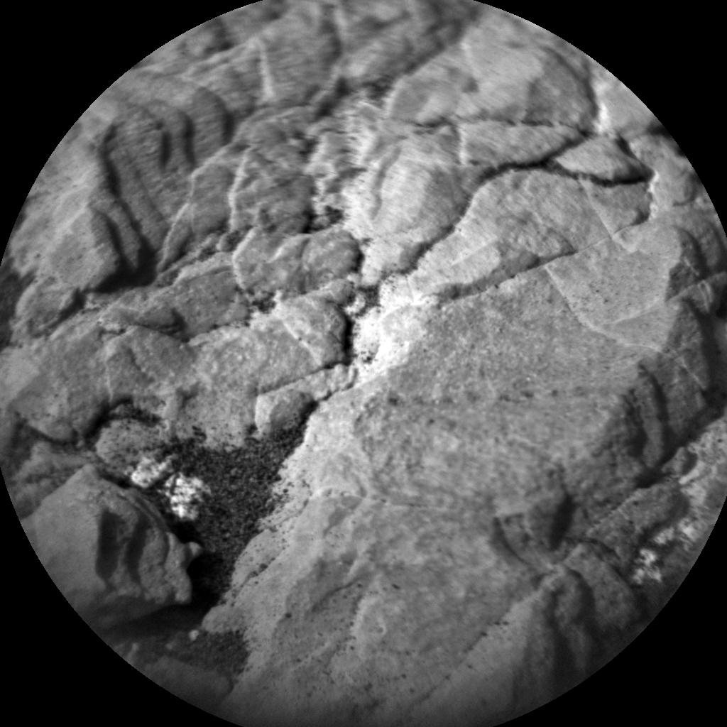 Nasa's Mars rover Curiosity acquired this image using its Chemistry & Camera (ChemCam) on Sol 2374, at drive 1386, site number 75
