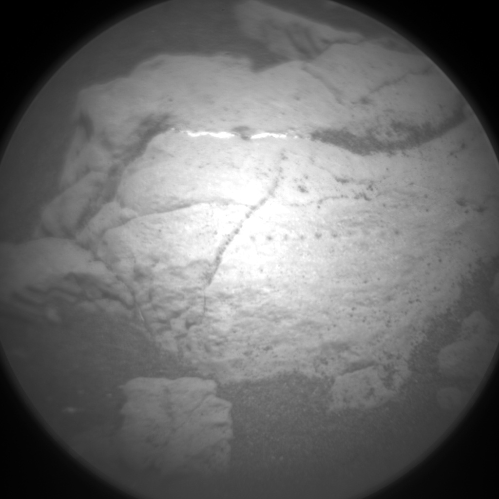 Nasa's Mars rover Curiosity acquired this image using its Chemistry & Camera (ChemCam) on Sol 2375, at drive 1386, site number 75