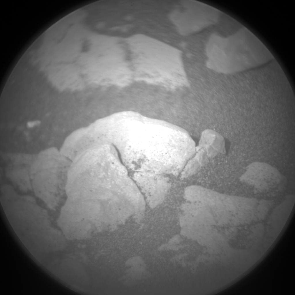 Nasa's Mars rover Curiosity acquired this image using its Chemistry & Camera (ChemCam) on Sol 2376, at drive 1386, site number 75