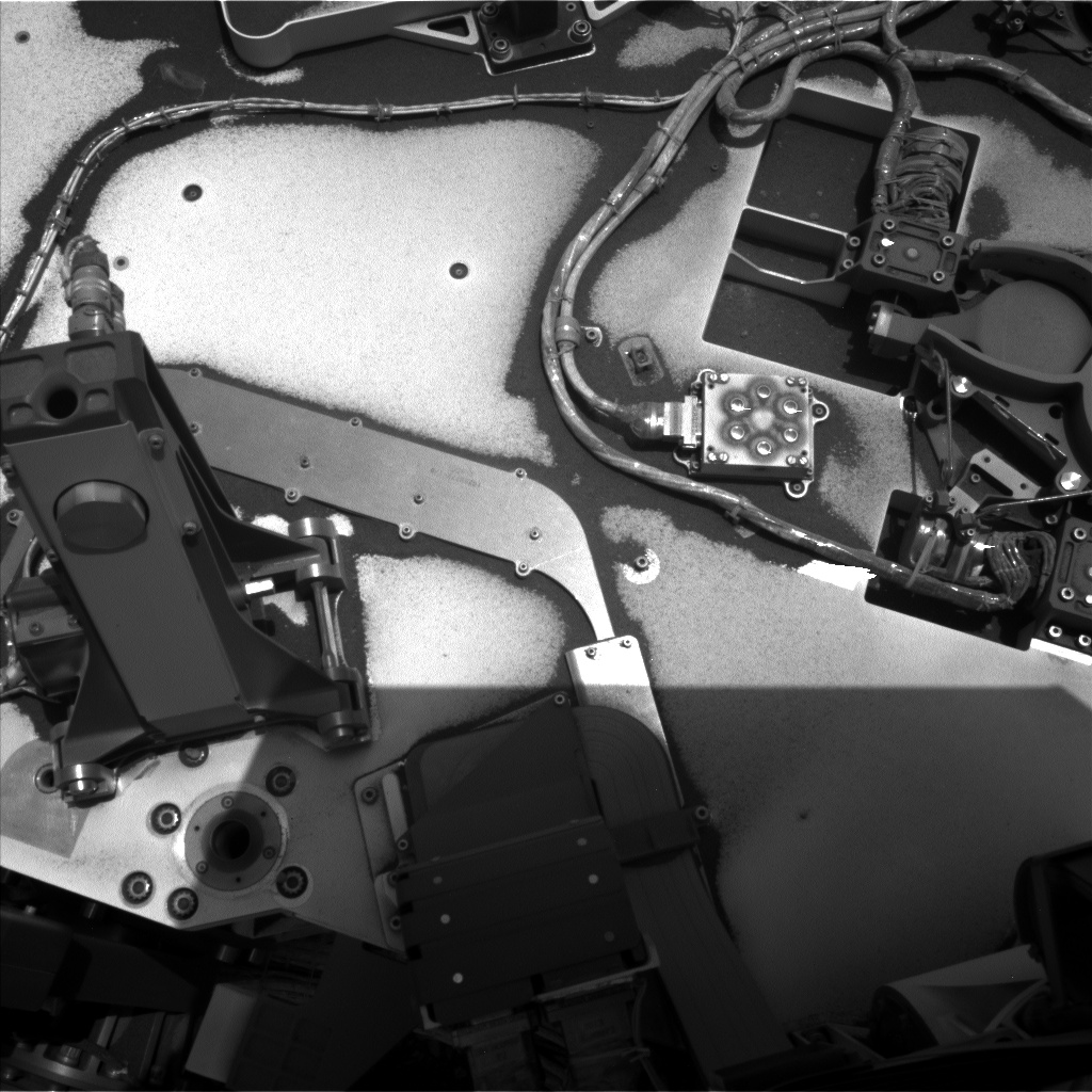 Nasa's Mars rover Curiosity acquired this image using its Left Navigation Camera on Sol 2376, at drive 1386, site number 75