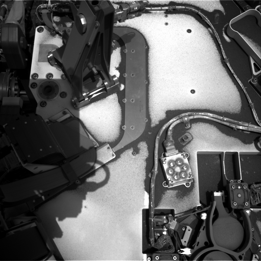 Nasa's Mars rover Curiosity acquired this image using its Right Navigation Camera on Sol 2376, at drive 1386, site number 75