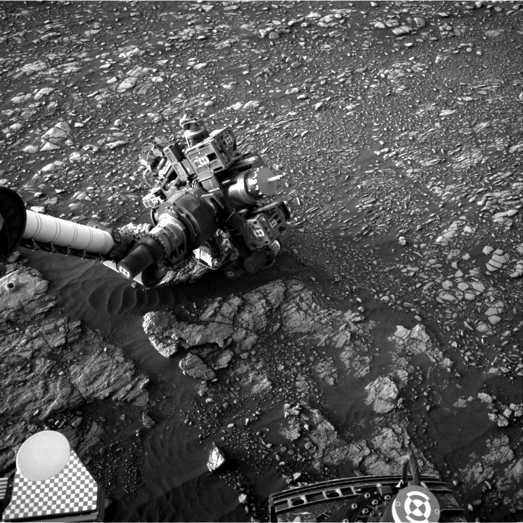 Nasa's Mars rover Curiosity acquired this image using its Right Navigation Camera on Sol 2377, at drive 1386, site number 75