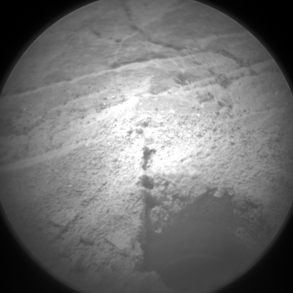 Nasa's Mars rover Curiosity acquired this image using its Chemistry & Camera (ChemCam) on Sol 2380, at drive 1386, site number 75