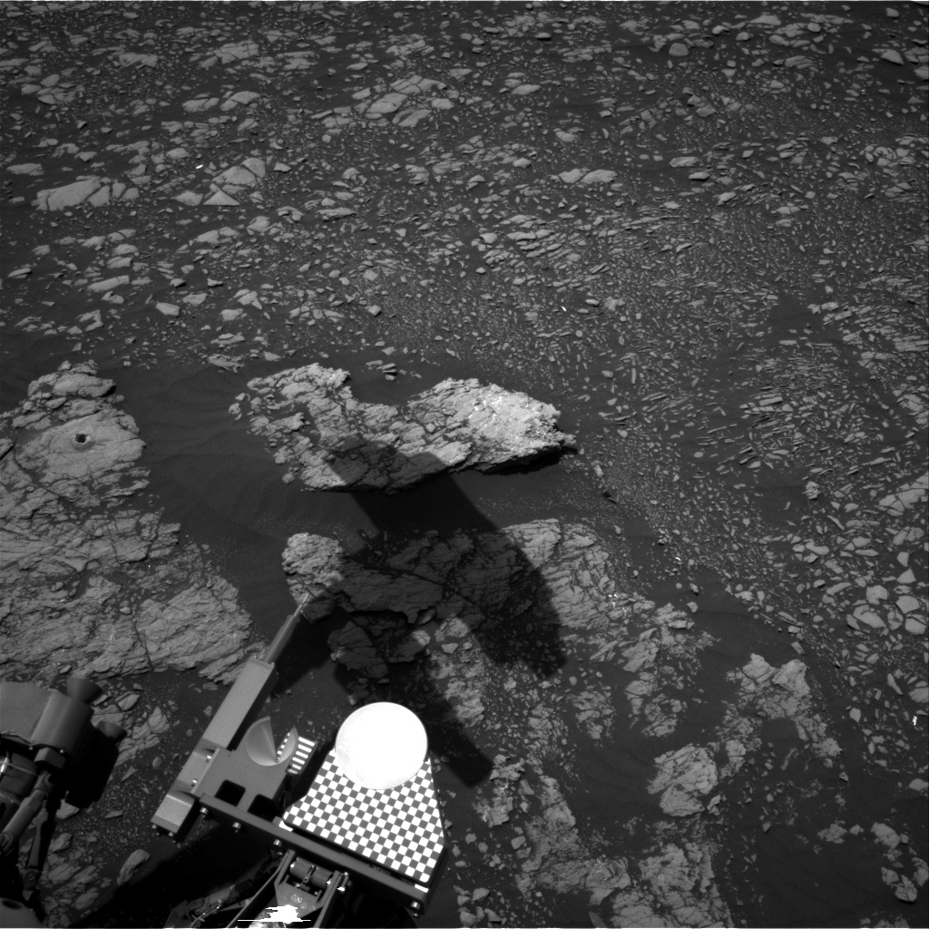 Nasa's Mars rover Curiosity acquired this image using its Right Navigation Camera on Sol 2382, at drive 1398, site number 75