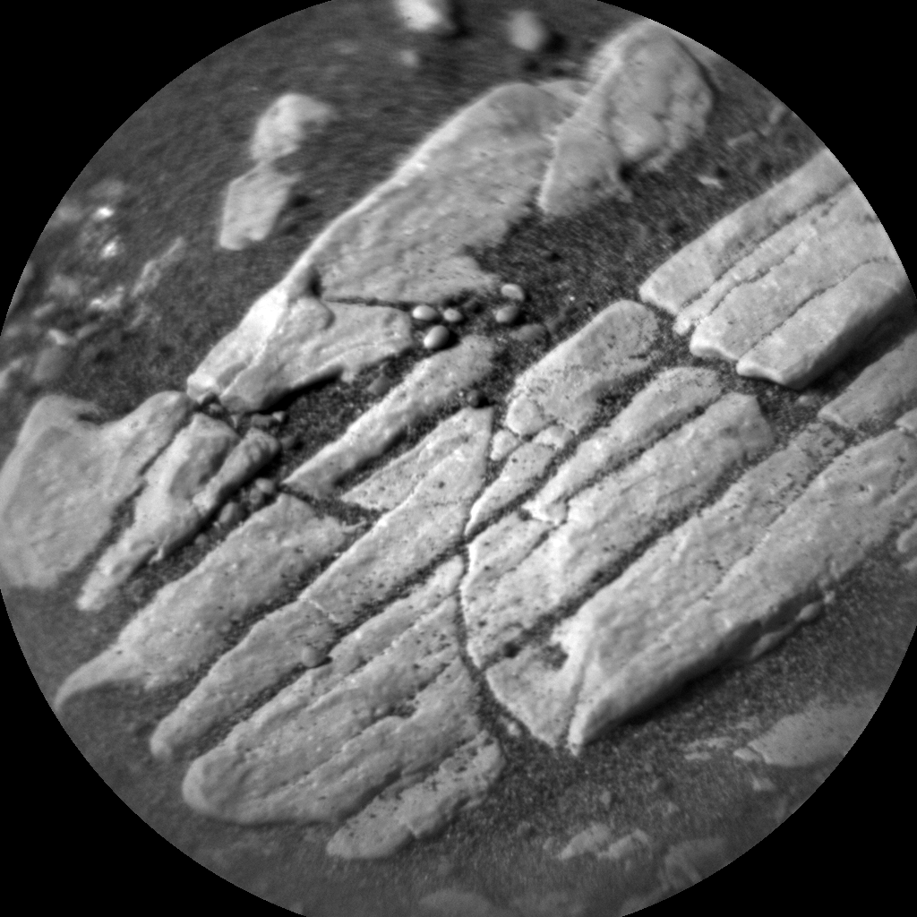Nasa's Mars rover Curiosity acquired this image using its Chemistry & Camera (ChemCam) on Sol 2382, at drive 1398, site number 75