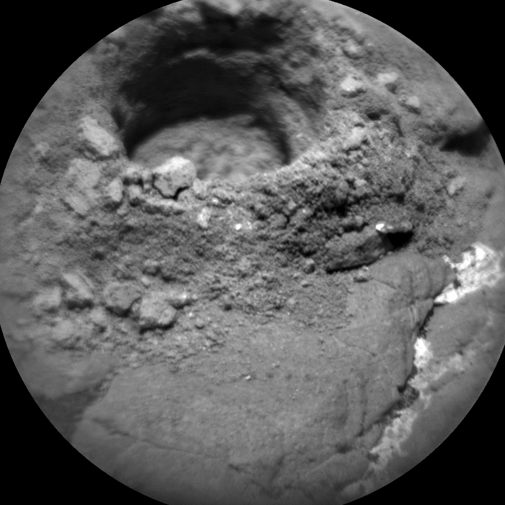 Nasa's Mars rover Curiosity acquired this image using its Chemistry & Camera (ChemCam) on Sol 2385, at drive 1398, site number 75