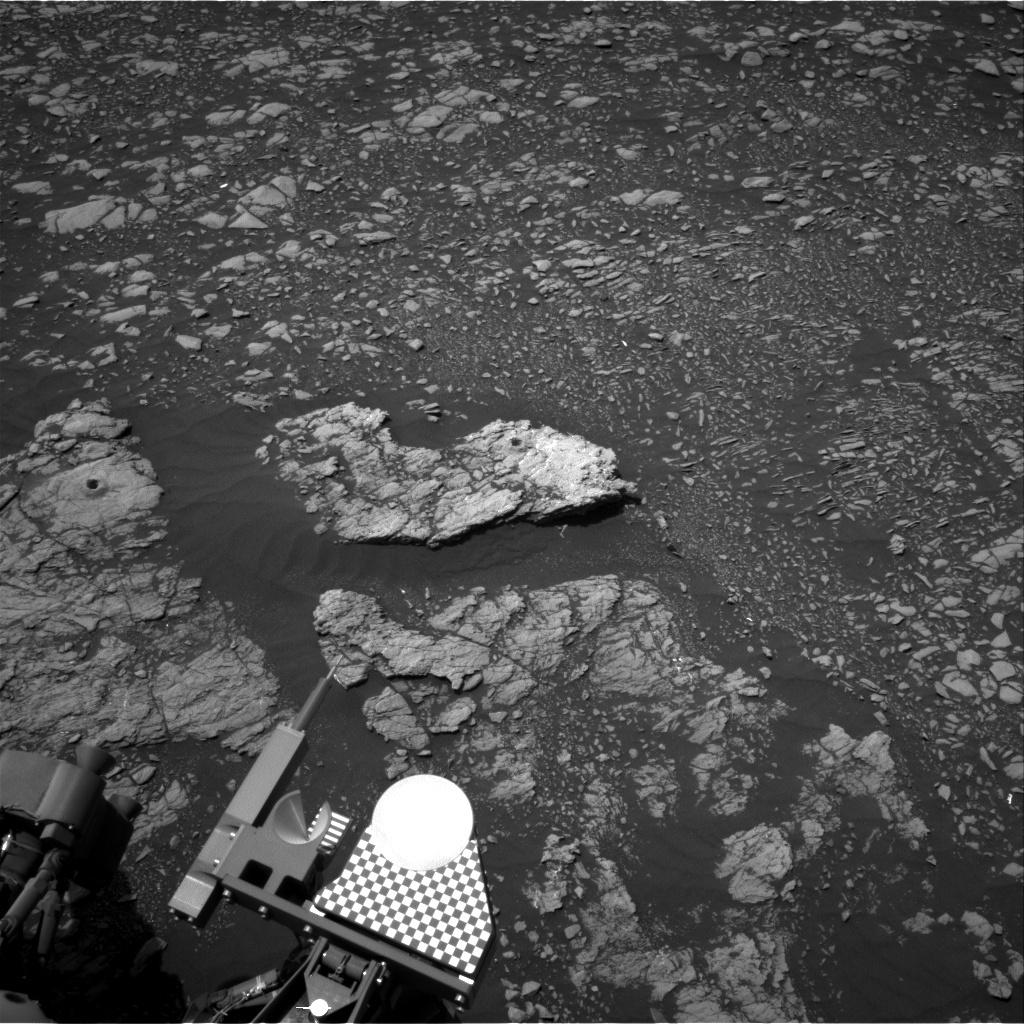 NASA's Mars rover Curiosity acquired this image using its Right Navigation Cameras (Navcams) on Sol 2386
