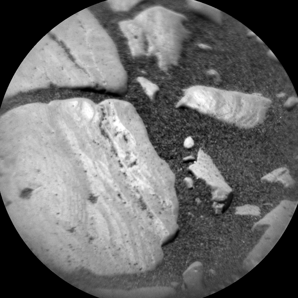 Nasa's Mars rover Curiosity acquired this image using its Chemistry & Camera (ChemCam) on Sol 2387, at drive 1398, site number 75
