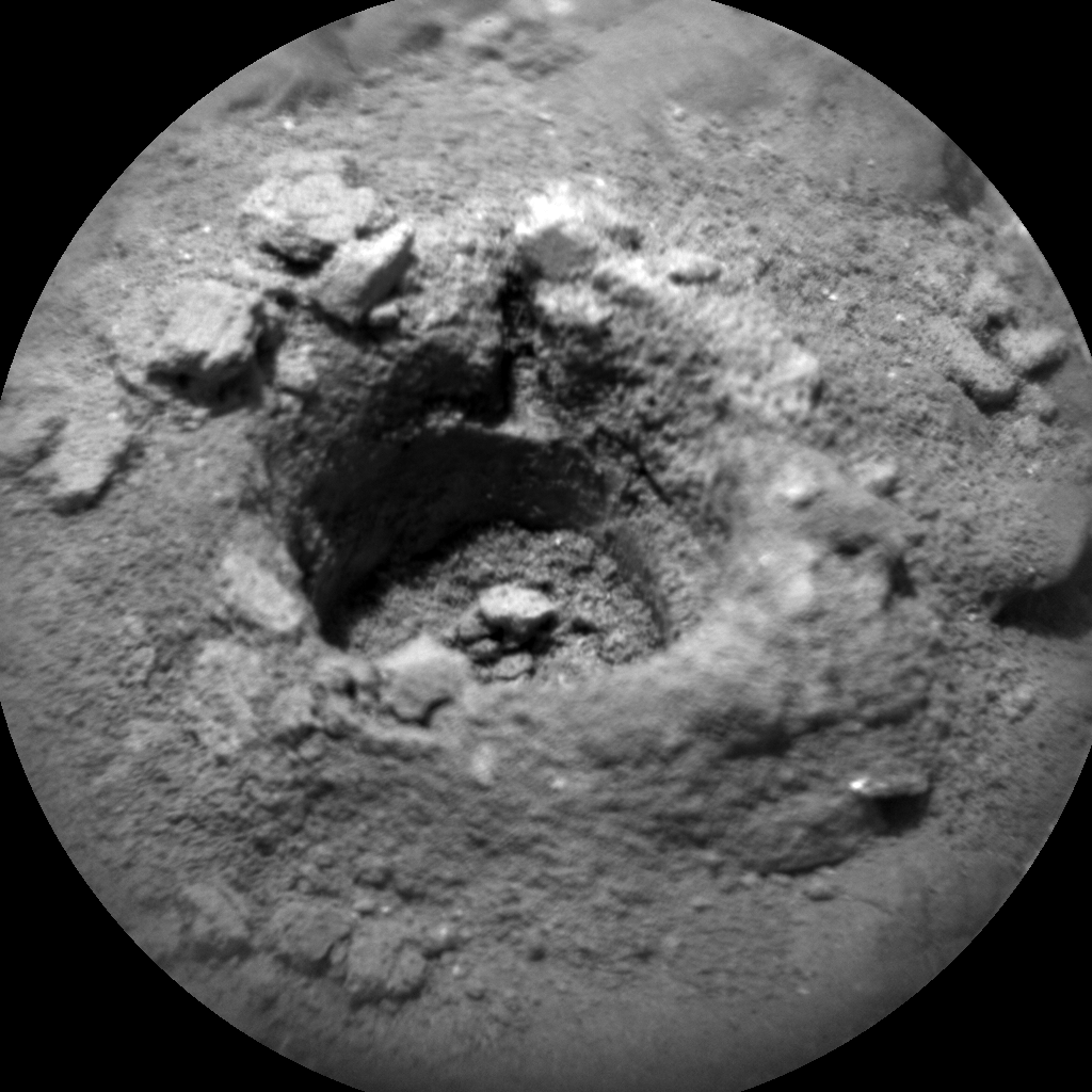 Nasa's Mars rover Curiosity acquired this image using its Chemistry & Camera (ChemCam) on Sol 2388, at drive 1398, site number 75