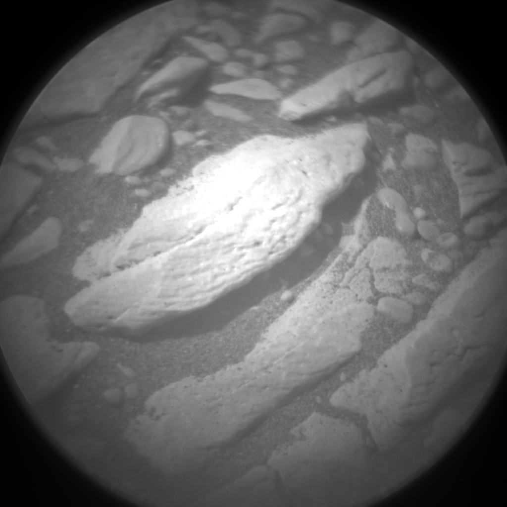 Nasa's Mars rover Curiosity acquired this image using its Chemistry & Camera (ChemCam) on Sol 2389, at drive 1398, site number 75