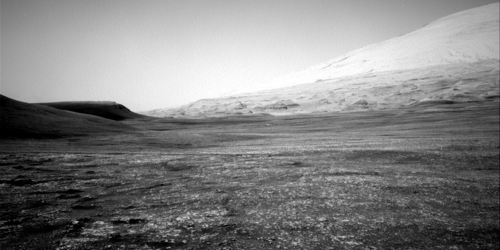 NASA's Mars rover Curiosity acquired this image using its Right Navigation Cameras (Navcams) on Sol 2389