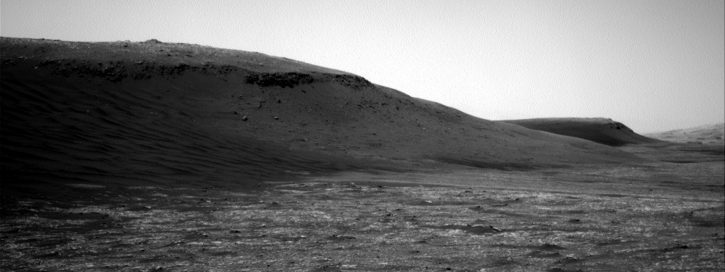 Nasa's Mars rover Curiosity acquired this image using its Right Navigation Camera on Sol 2391, at drive 1398, site number 75