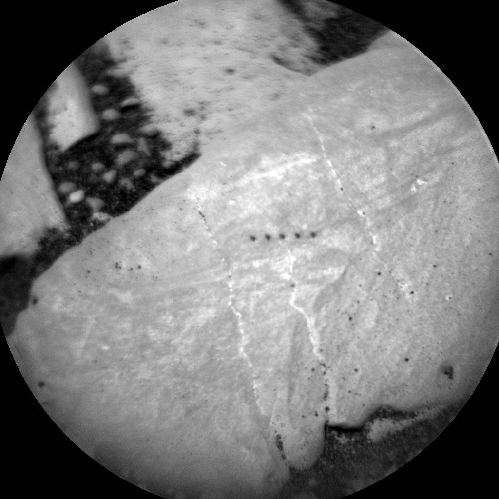 Nasa's Mars rover Curiosity acquired this image using its Chemistry & Camera (ChemCam) on Sol 2391, at drive 1398, site number 75