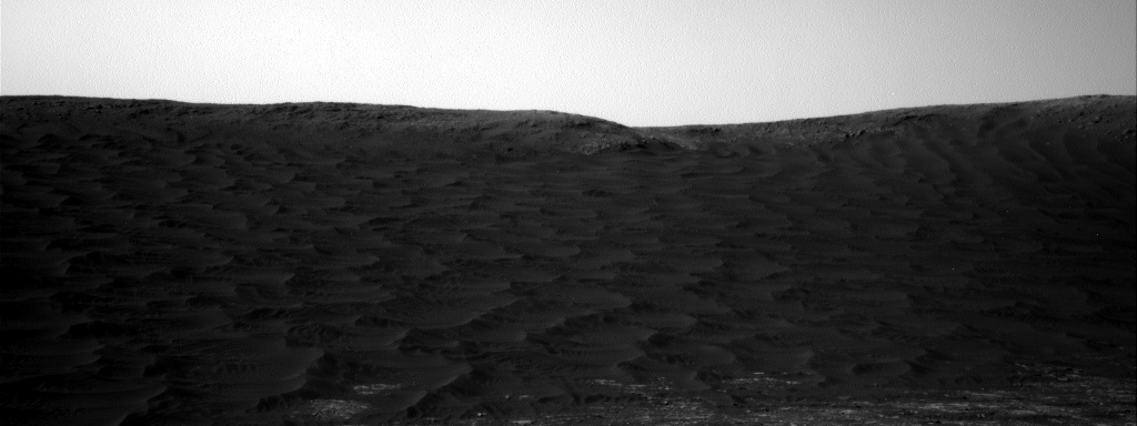 Nasa's Mars rover Curiosity acquired this image using its Right Navigation Camera on Sol 2393, at drive 1398, site number 75