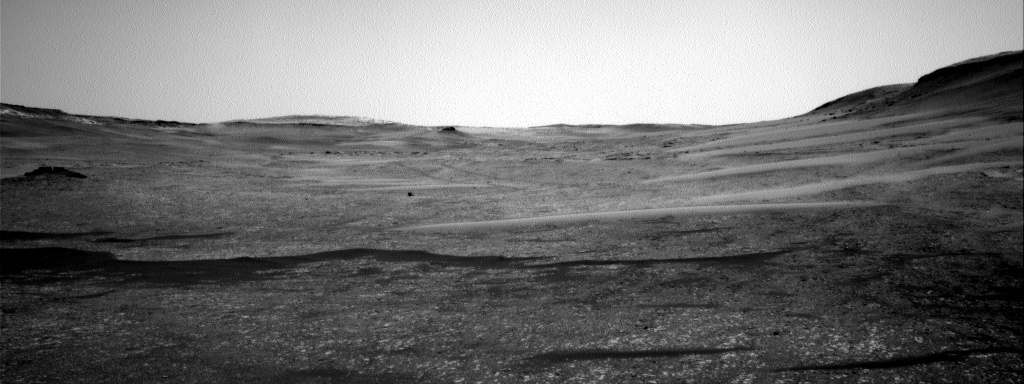 Nasa's Mars rover Curiosity acquired this image using its Right Navigation Camera on Sol 2394, at drive 1398, site number 75