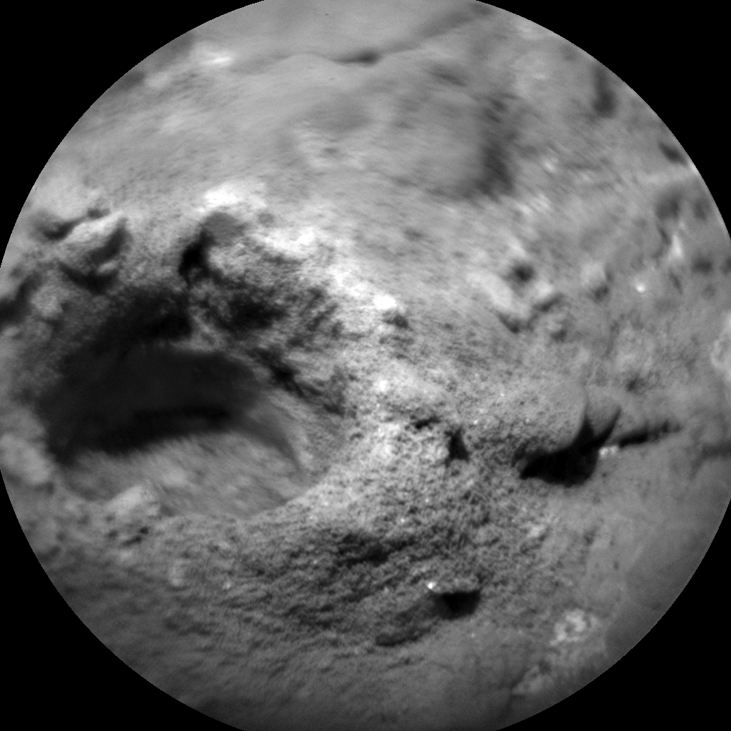 Nasa's Mars rover Curiosity acquired this image using its Chemistry & Camera (ChemCam) on Sol 2394, at drive 1398, site number 75
