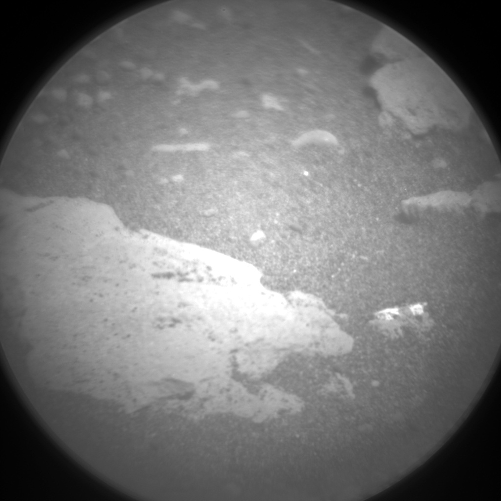 Nasa's Mars rover Curiosity acquired this image using its Chemistry & Camera (ChemCam) on Sol 2396, at drive 1398, site number 75